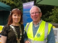 Deputy Mayor Liona O'Toole at the Lucan Festival