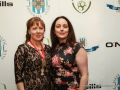 Cllr. Liona O'Toole with Maria Carron at Esker Football Club 25th Anniversary