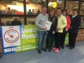 Cllr. Liona O'Toole at Lucan Operation Transformation registration