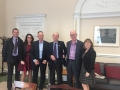 Cllr. Liona O'Toole with Lucan Residents with Transport Minister Shane Ross to discuss traffic issues on Newcastle road and surrounding areas.