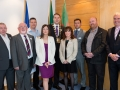 Cllr. Liona O'Toole with the South Dublin County Council Community Alliance 2014